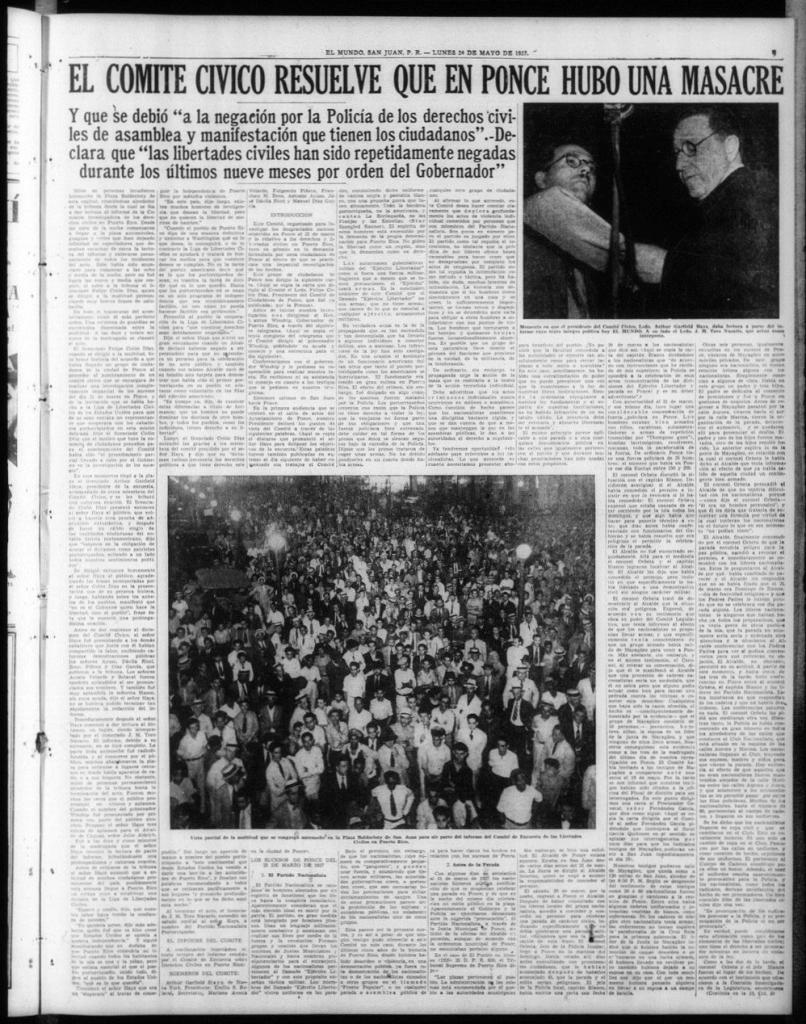 1937 Ponce Masacre