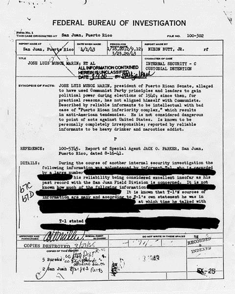 FBI Document