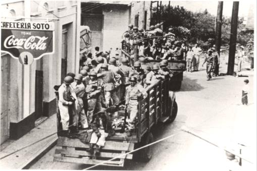 More U.S. National Guard troops arrive in Jayuya (November 1, 1950)