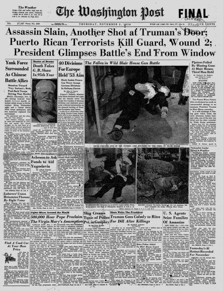 Truman Assassination Attempt