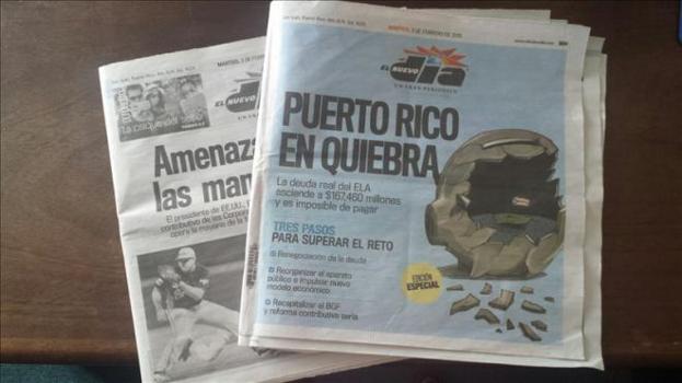 El Nuevo Dia PR en Quiebra