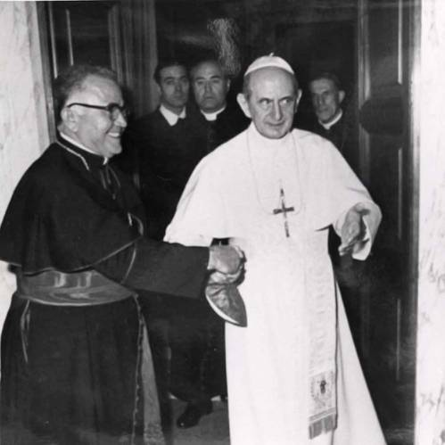 Luis Aponte Martinez and Pope Paul VI