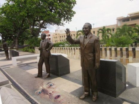 Juan Bobo and Paseo de Los Presidentes
